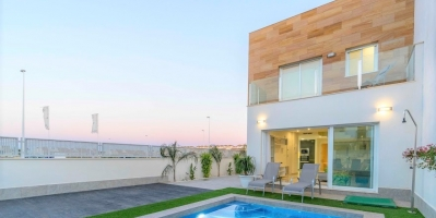 Semi-detached Villa - New Build - San Pedro del Pinatar - San Pedro del Pinatar